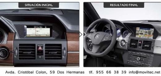 Navegación Mercedes Clase GLK  (Octubre 2008 a Mayo 2012)-2