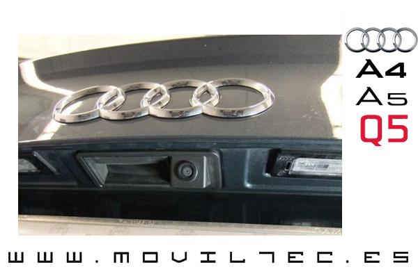Cámara-trasera-para-Audi-en-Sevilla-A4-A5-Q5-Moviltec