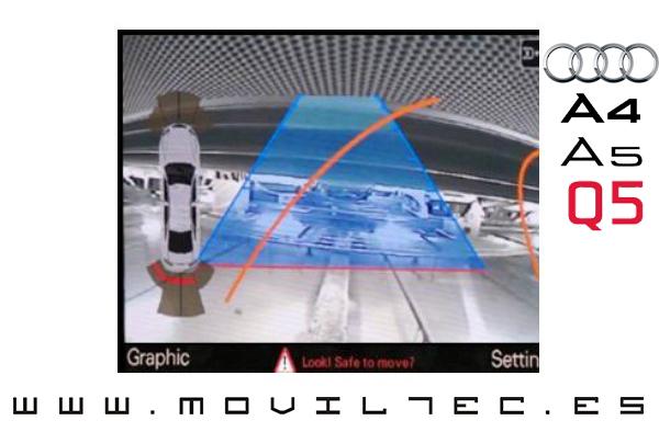 Kit-interface-Cámara-para-Audi-Moviltec-Sevilla